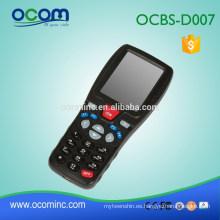 Escáner láser de código de barras para recibir, enviar, inventario Handheld MobileTerminal (OCBS-D007)
