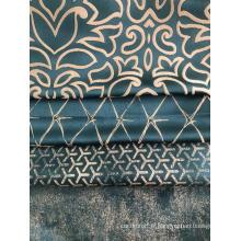 Tissu jacquard de rideau 100% polyester