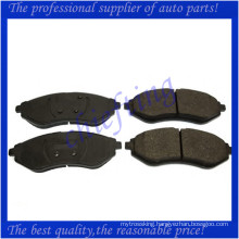 D1269 96534653 23974 high quality brake pad for daewoo kalos