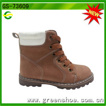 Safety Boot Shoes Boy High Heel Imitation Leather