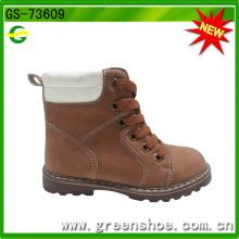 Botas de segurança Boot Boy High Heel Imitation Leather
