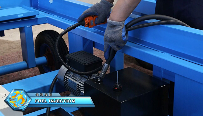 Lift Table Fuel Injection
