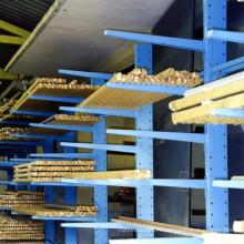 Rayonnage cantilever en acier à chargement lourd de haute qualité avec bras