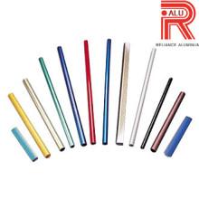 Perfis de extrusão de alumínio / alumínio para tubo de cor / tubo