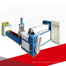 Reciclaje de plástico Granulador de gránulos Reciclaje de peletización