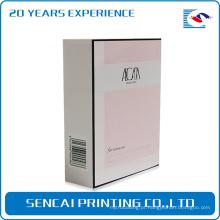 Caixas luxuosas impressas costume do perfume do encarregado do envio da correspondência que empacotam para o cosmético