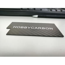 250x400mm Carbon Fiber Effect Sheet 7.0mm tjocklek