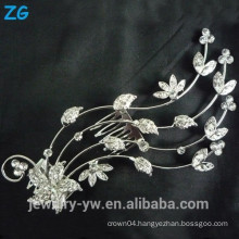 Fashion Design full crystal hair combs flower wedding hair comb wholesale hair accessories