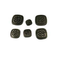 Mode-Accessoire Billig Kundenspezifische Metall Logo Label