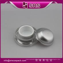 J032 frasco de creme acrílico vazio, frasco de creme cosmético de forma de cone