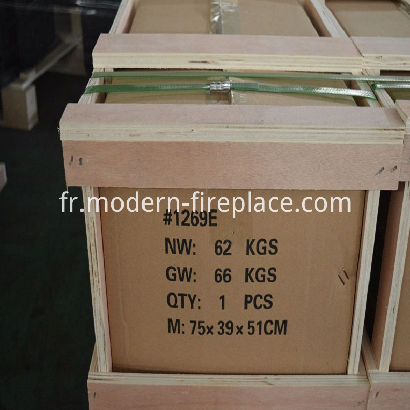 Production Sale Wood Heater Packaging