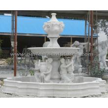 Fuente de mármol para la fuente de agua del jardín (SY-F358)