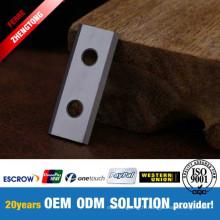 Couteau réversible à bois CNC pour le rabotage