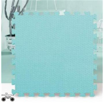 Non-toxic puzzle interlocking mat with cozy and soft