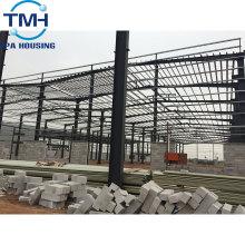 Atelier en acier de construction d'apparence moderne pour la production