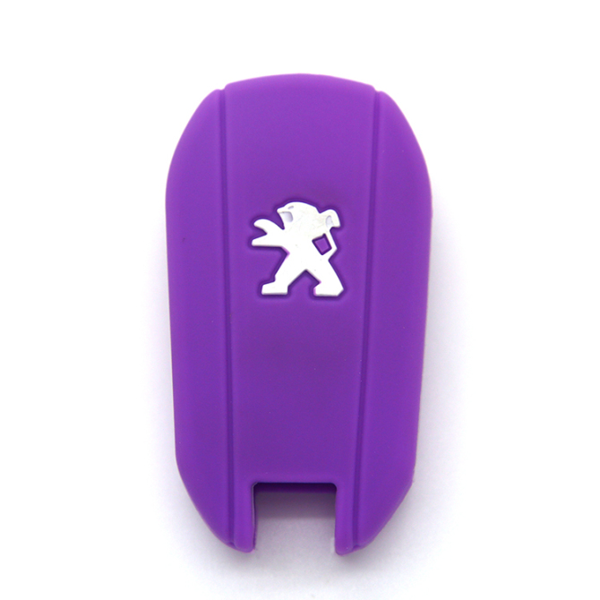 Car accsessory- magnetic embossed 3 buttons silicone key cover -is no harm and environmentally friendly.When you hold a beautiful design key cases rubber covers for Peugeot 3 buttons in your hand,it feels soft ,smooth and light.You will love auto Peugeot 3 buttons silicone car key cover when you have it.