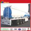 Stainless Steel Material Fuel Transport Tank Semi Trailer