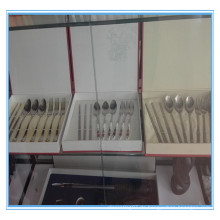 Hochwertiges, kundenspezifisches Titan Geschirr Set Titan Besteck Set