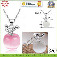 Fahion Jewelry 925 Sliver Necklace with Stone pour cadeaux promotionnels