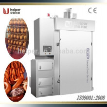 Dos carretilla automática de salchicha / horno de carne de humo