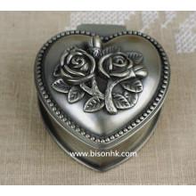 Горячий продавая оптовый классицистический цинковый сплав металла античный серебр выгравированный шикарный поднимает кольцо кольца венчания
