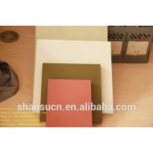 Panneau blanc de mousse de PVC imprimable pour le signe, panneau de remplisseur de polyéthylène de 30mm / panneau de palette de polyéthylène / panneau de mousse de PVC