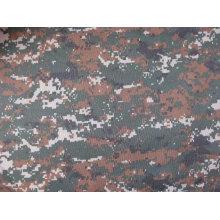 Imprimé 600d Polyester Camouflage numérique en Oxford avec PVC