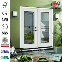 Alamo White Primer Inswing Fiberglass Patio Door