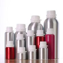 Botella de aceite esencial de aluminio al por mayor vacía