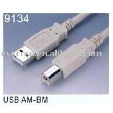 CABLE DE CONNEXION USB2.0 AM-BM (9134)
