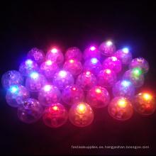 Centros de mesa de luz led globo para decoración de fiesta