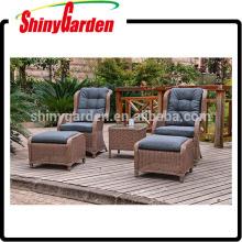 5pcs Outdoor Leisure Rattan Sofa Set