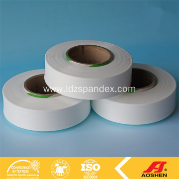 Spandex yarn for spandex fabric and narrow belt