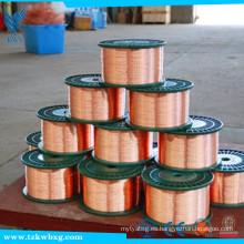 Venta directa de fábrica de cobre recubierto de gas CO2 blindado de alambre de soldadura