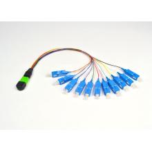 Cabo de remendo da fibra óptica de MPO / MTP