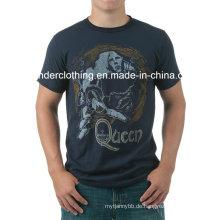 Cotton Fashion Herren Großhandel Benutzerdefinierte Druck Sommer T-Shirt