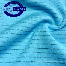 polyester sport quick-drying knit anti static interlock fabric for sportswear