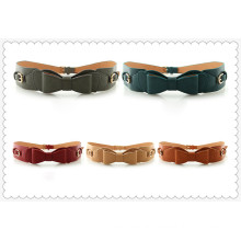 Fashion women pu leather belt