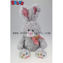 """Lovely coelho cinzento Plush Brinquedos Orelha grande coelhos boa qualidade pode ser personalizado Bos2016-01 / 15.7 """""""
