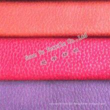 Canapé tissu de polyester velours gaufré Suede recouvrement