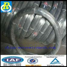 Gi Wire / Electro galvanisé en fil de fer prix du fil de poulet