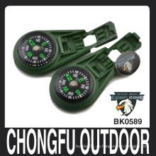 Verde del ejército Llenado líquido clip de bloqueo Compás al por mayor