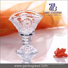 Taza de helado de cristal caliente diseñada