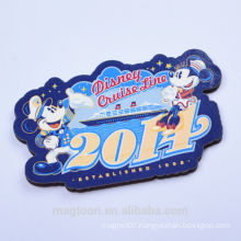 cheap custom Mickey mouse design wood fridge magnets for decor & gifts