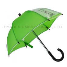 Parapluie de jouet d'affichage miniature imprimé transparent