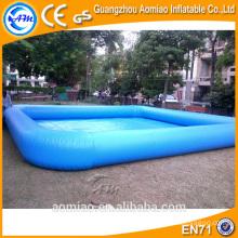 Fútbol inflable divertido de la tabla de piscina inflable flotador profundo de encargo de la piscina