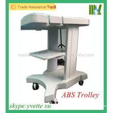 2016 MSL Nuevo tipo ABS Mobile Ultrasound carro de la máquina Cheap cartón de ultrasonido Tipo A