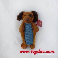 Weiches Karikatur-Hundesquietschen-Spielzeug