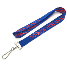 Pas de commande minimum Badge Clip Custom Lanyards