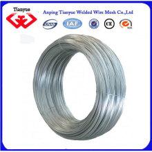 Electro galvanisé / fil de fer galvanisé chaud à chaud